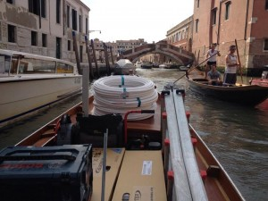 Blu Service si districa a Venezia