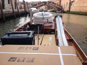 Blu Service installa impianto a Venezia